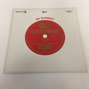 Benny Goodman : The Alternate Goodman Volume 5