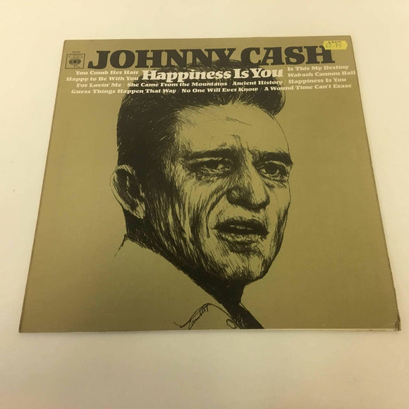 Johnny Cash :‎ Happiness Is You
