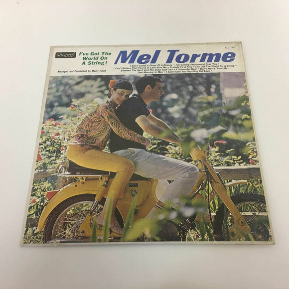Jazz Mel Torme I've Got The World On A String ! 1964  12