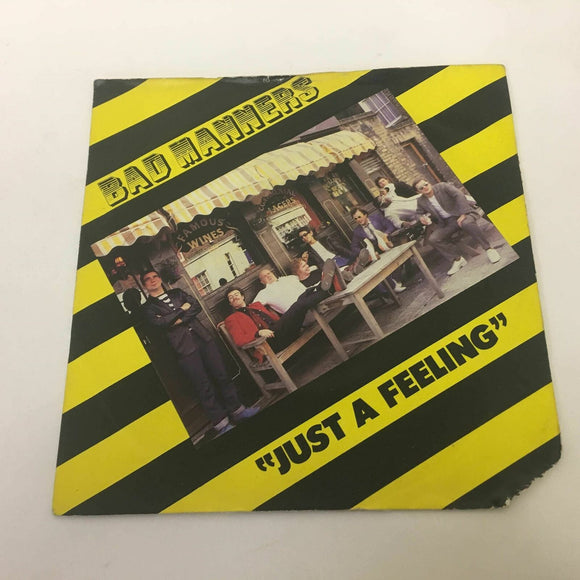 Bad Manners ‎ Just A Feeling 1980  7
