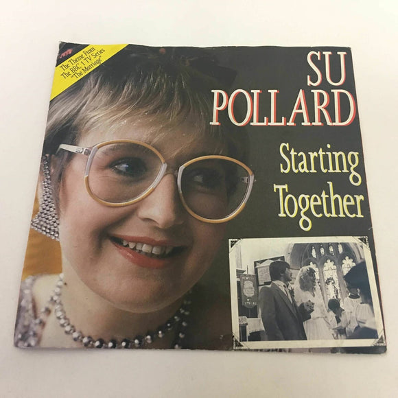 Su Pollard ‎ Starting Together 1986  7