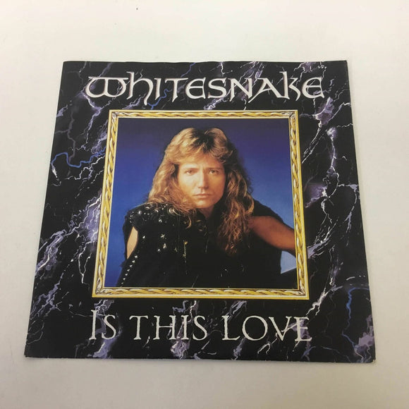 Whitesnake ‎: Is This Love