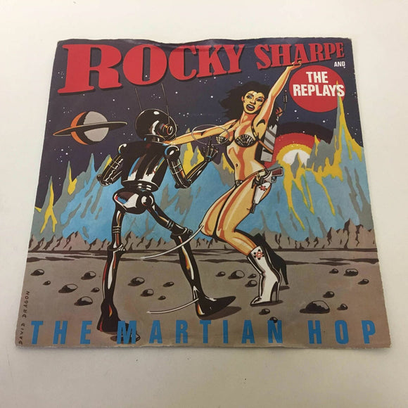 Rocky Sharpe & The Replays ‎: A Fool In Love With You / Martian Hop