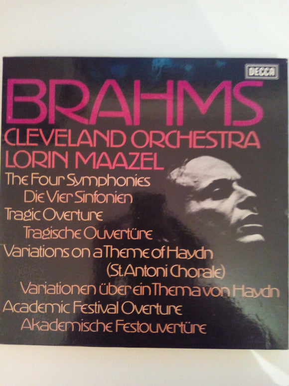 Brahms : The Four Symphonies, Cleveland Orchestra, Lorin Maazel