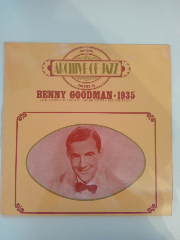 Archive Of Jazz Volume 35 : Benny Goodman 1935