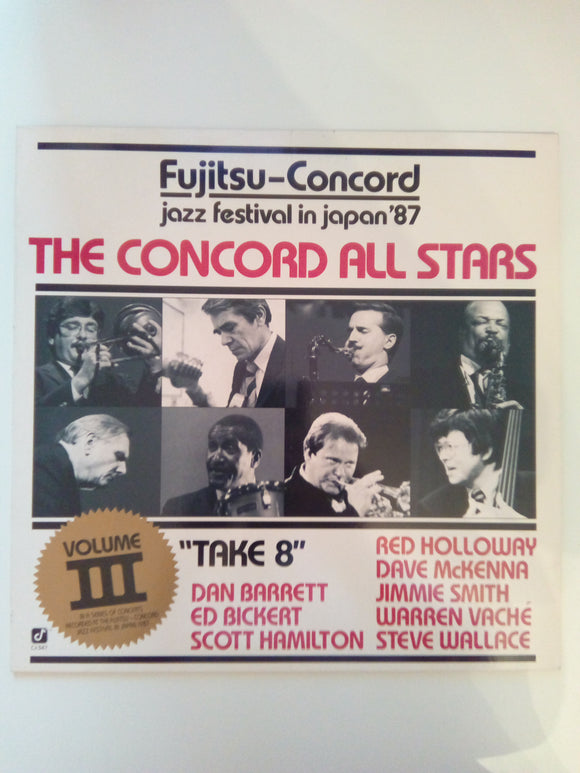 The Concord All Stars : Fujitsu Volume 3 : Take 8