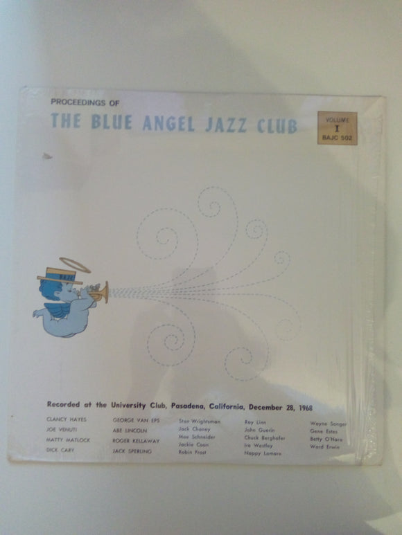 The Blue Angel Jazz Club : Jazz At Pasadena '68 Volume 1