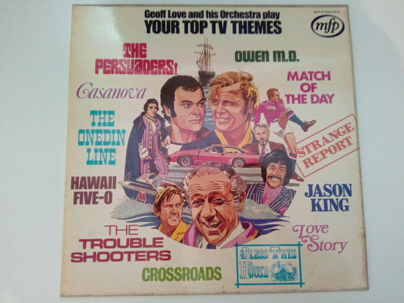 Geoff Love And His Orchestra Play Your Top TV Themes