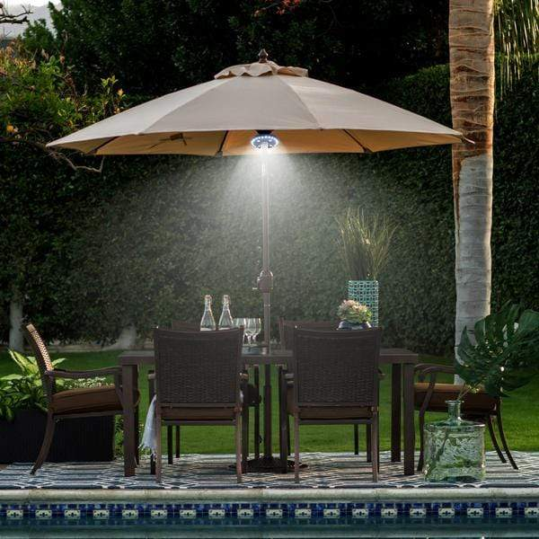 Bright Patio LED Umbrella Light - A Must Have for Outdoor Activities!