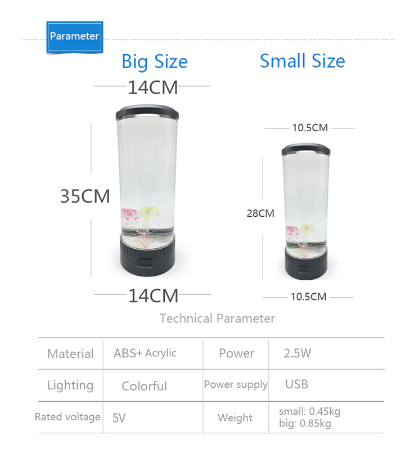 LED Jellyfish Aquarium, Jellyfish Lamp Multi-Color Changing Aquarium Night Light -  UNIVERS TREND