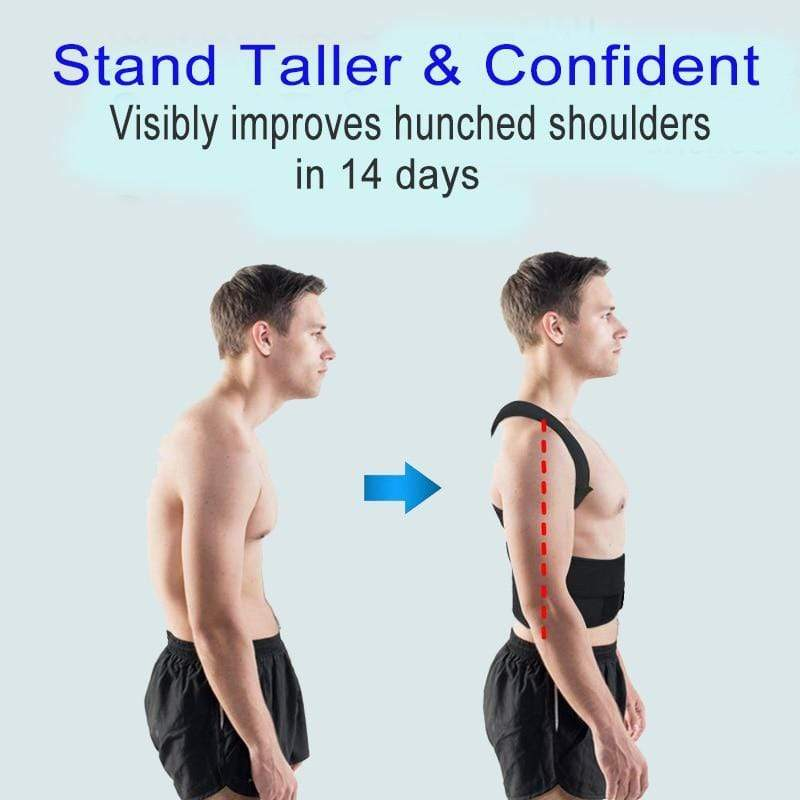 Adjustable Back Posture Brace -  UNIVERS TREND