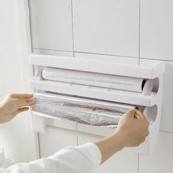 Kitchen Film Cutting Storage Rack