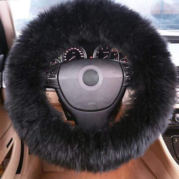 Fluffy Steering Wheel Cover
