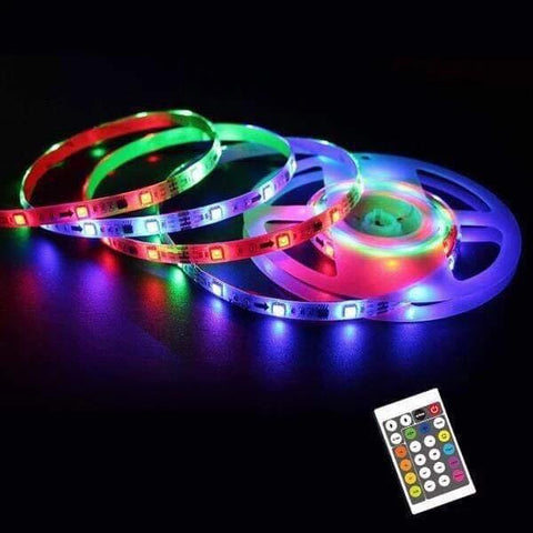 32ft Color Changing LED Light Strip (Remote Included)