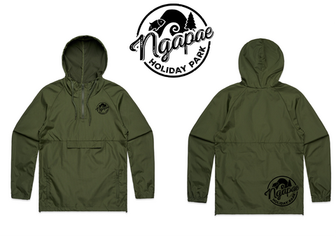 Ngapae Holiday Park Windbreaker