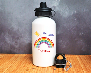 Rainbow Personalised Mug or Bottle