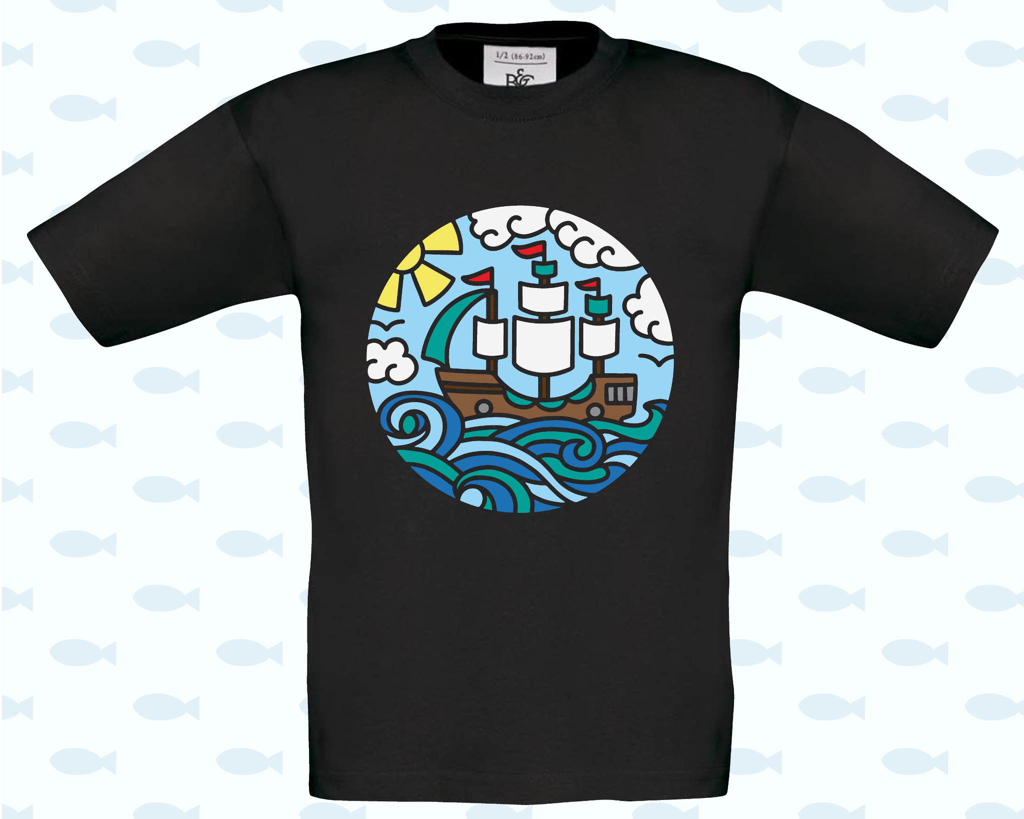 Ship In A Circle T-Shirt