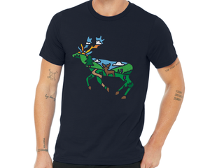 Stag With Scenery T-Shirt