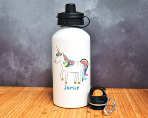 Unicorn Personalised Mug or Bottle