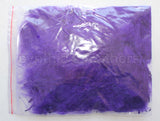 "1/4 oz Purple  1-3"" Turkey Marabou Loose Feathers 50-70 Pieces"
