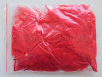 "1/4 oz Red  1-3"" Turkey Marabou Loose Feathers 50-70 Pieces"