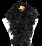 100 Grams Black Chandelle Feather Boa