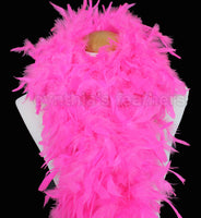100 Grams Hot Pink Chandelle Feather Boa