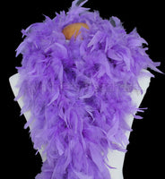 100 Grams Lavender Chandelle Feather Boa