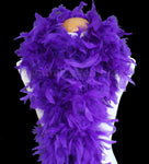 100 Grams Regal Purple Chandelle Feather Boa