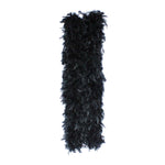 150 Grams Black Chandelle Feather boa