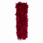 150 Grams Burgundy Chandelle Feather boa