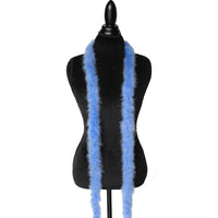 15 Grams Azure Blue Marabou Feather Boa