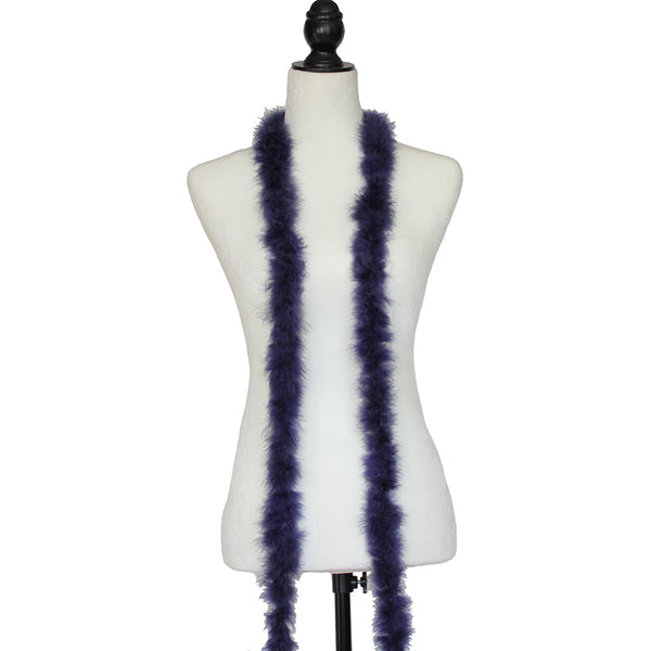 15 Grams Navy Blue Marabou Feather Boa