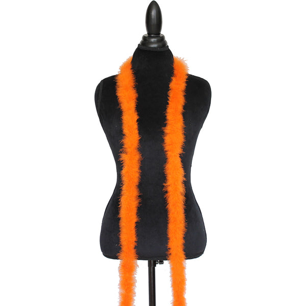 15 Grams Orange Marabou Feather Boa