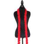 15 Grams Red Marabou Feather Boa