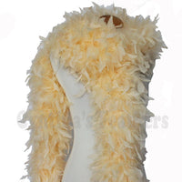 180 Grams Champagne Chandelle Feather Boa
