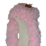 180 Grams Baby Pink Chandelle Feather Boa