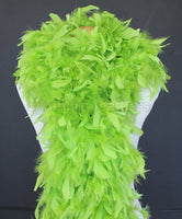 180 Grams Lime Green Chandelle Feather Boa