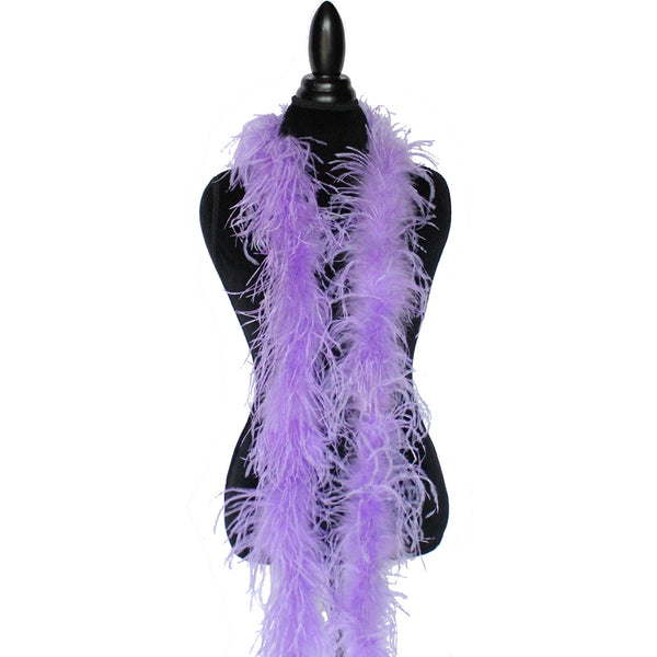 "1 ply 72"" Lavender Ostrich Feather Boa"