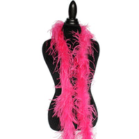 "1 ply 72"" Mauve Ostrich Feather Boa"