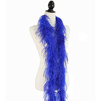 "1 ply 72"" Royal Blue Ostrich Feather Boa"