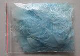 "0.35 oz Aqua Blue 3-4"" Turkey Plumage Loose Feathers 80-120 Pieces"