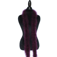 22 Grams Wine Marabou Feather Boa