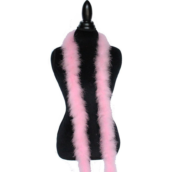 22 Grams Candy Pink Marabou Feather Boa
