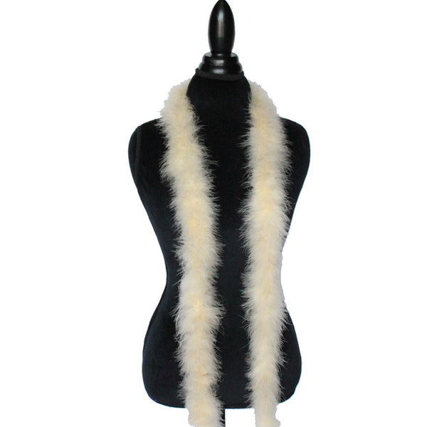 22 Grams Champagne Marabou Feather Boa