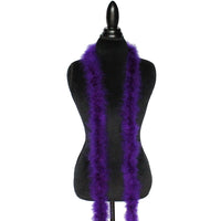 22 Grams Dark Purple Marabou Feather Boa