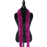 22 Grams Purple Plum Marabou Feather Boa