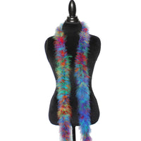 Copy of 22 Grams Rainbow Mix Marabou Feather Boa