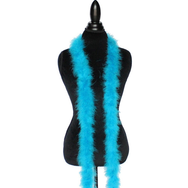 22 Grams Turquoise Marabou Feather Boa