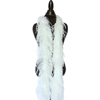 "2 ply 72"" Cream Yellow Ostrich Feather Boa"